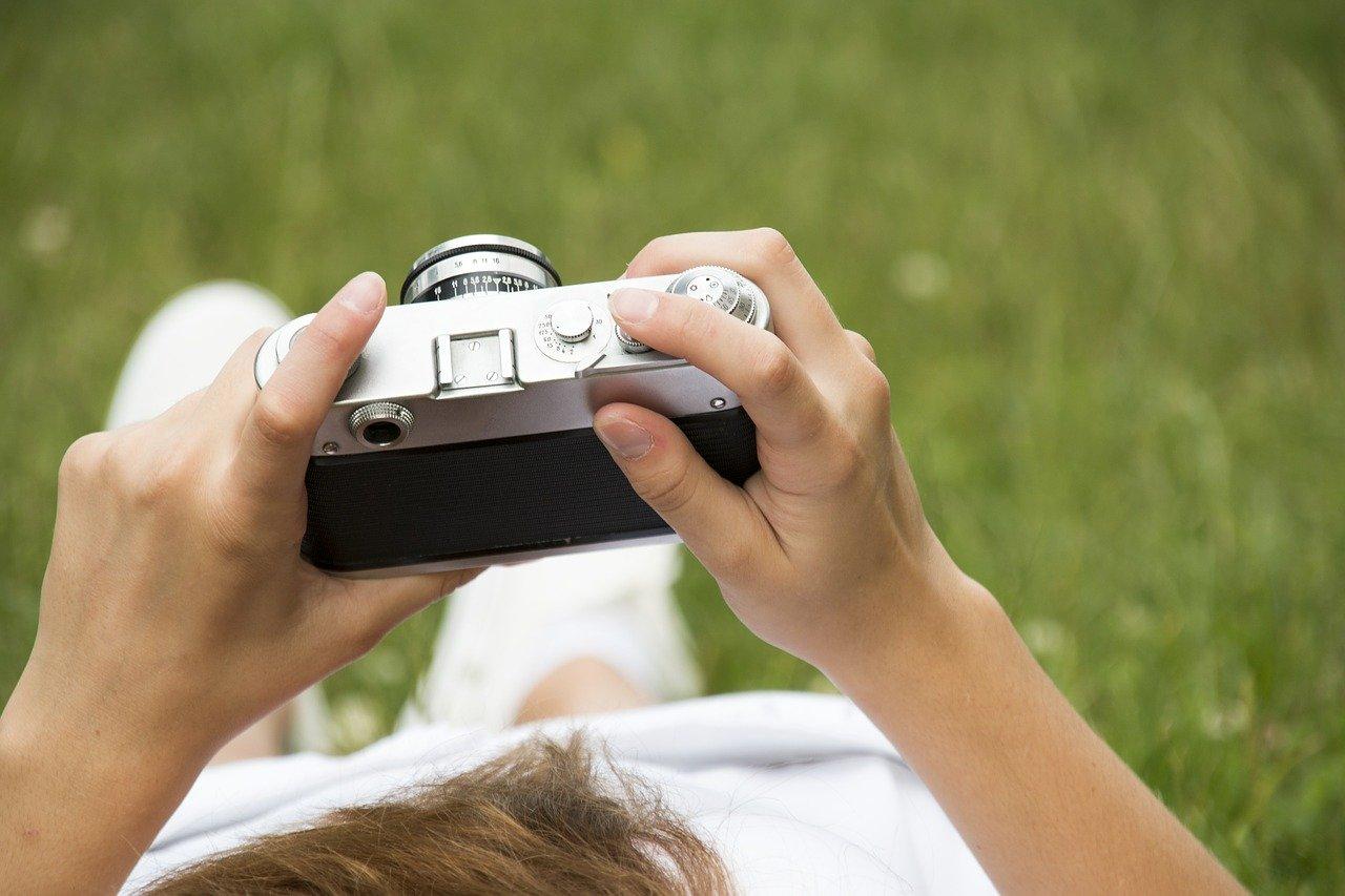 Fotografia, dysk do przechowywania zdjęć.
